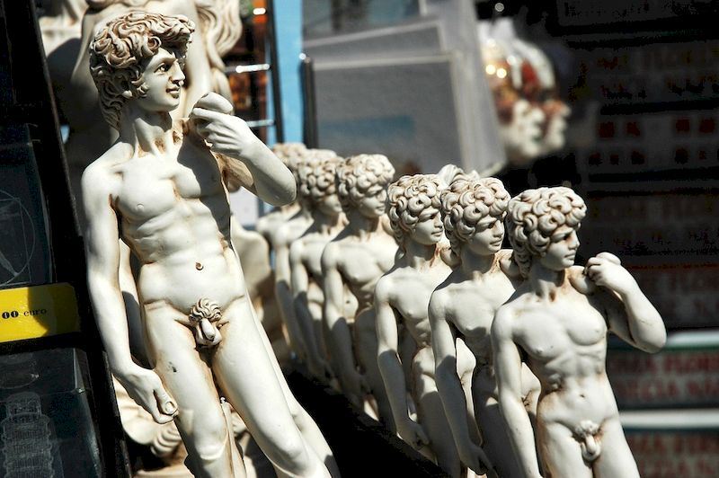 статуя давид